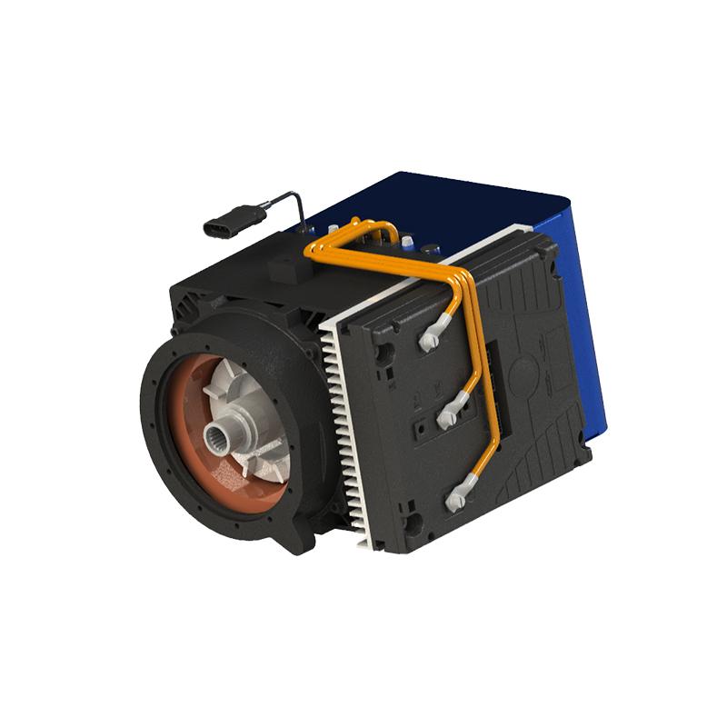 AC Self-Ventilated Square Motors